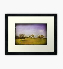 As Time Slowly Goes By Framed Print