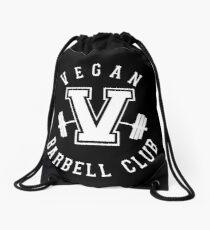 Veganer Barbell Club Turnbeutel