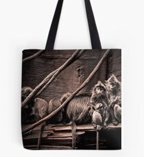 Channeling Dorothea Lange in Indonesia Tote Bag