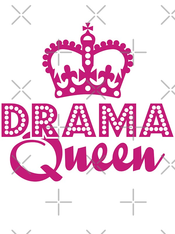 Quot Drama Queen Quot Stickers By Detourshirts Redbubble