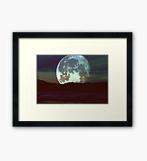 'Super Moon'  Framed Print