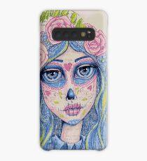 Sugar Skull Girl 1 of 3 Case/Skin for Samsung Galaxy