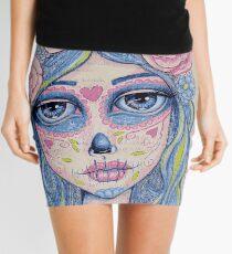 Sugar Skull Girl 1 of 3 Mini Skirt
