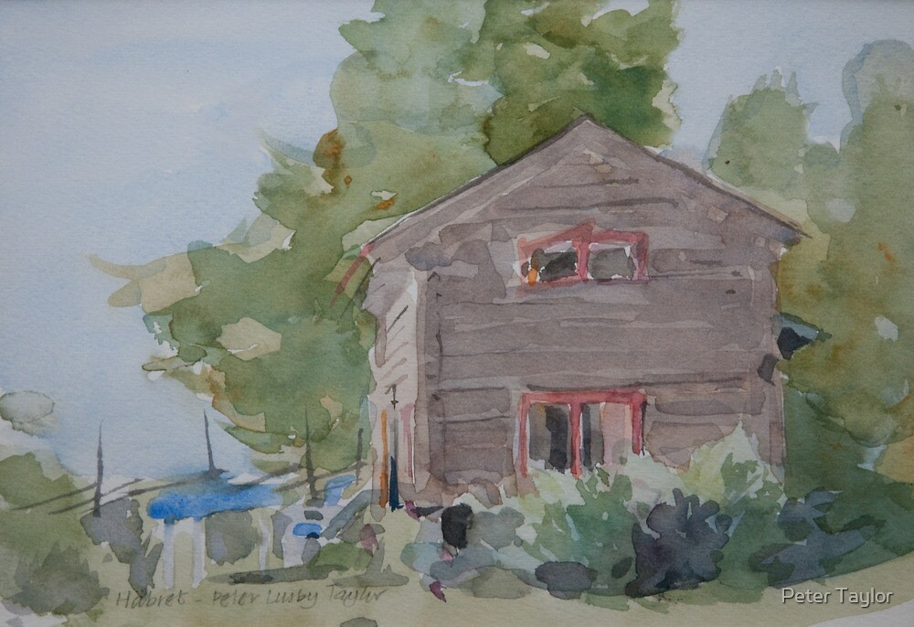 Small barn by Peter Lusby Taylor