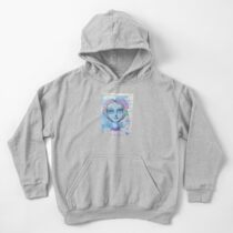 Sugar Skull Girl 2 of 3 Kids Pullover Hoodie