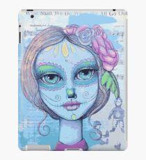 Sugar Skull Girl 2 of 3 iPad Case/Skin