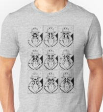 The many faces of Rorschach Slim Fit T-Shirt