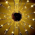 Under The Chandelier...Ashely Inn..Cascade, Idaho by Diane Arndt