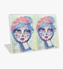 Sugar Skull Girl 3 of 3 Laptop Skin