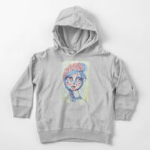 Sugar Skull Girl 3 of 3 Toddler Pullover Hoodie