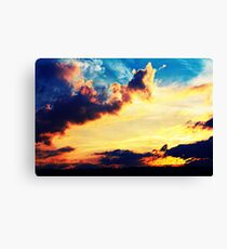 Sunset Clouds Canvas Print