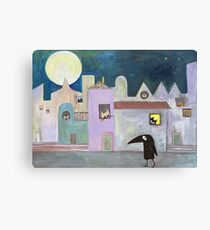 city of cats Canvas Print
