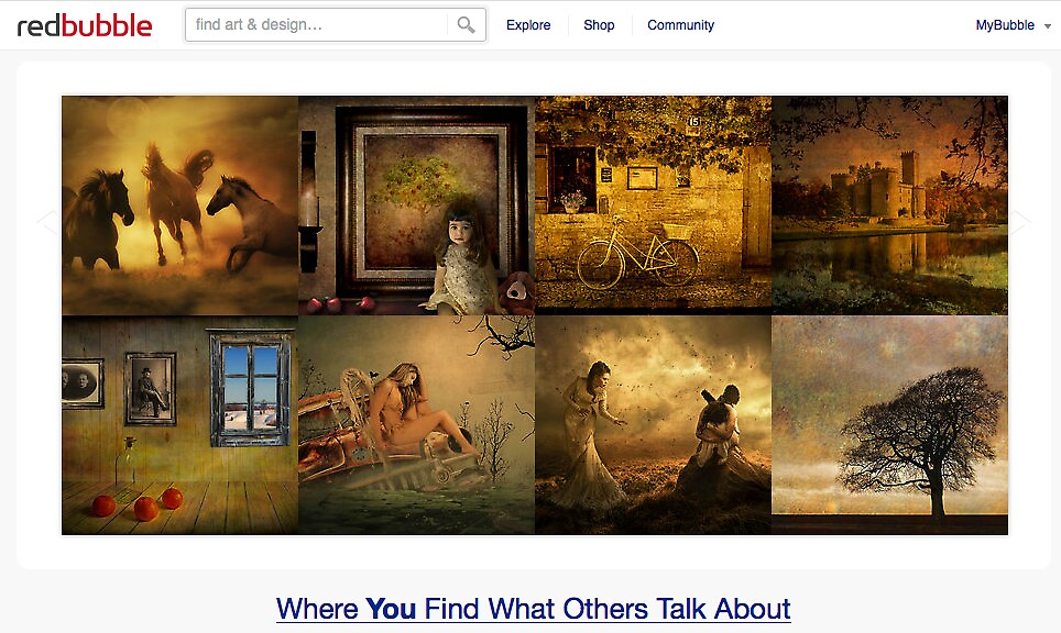 Mellow Tones - 19 March 2011 by The RedBubble Homepage