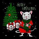 Frohe Weihnachten Ratte von gossiprag