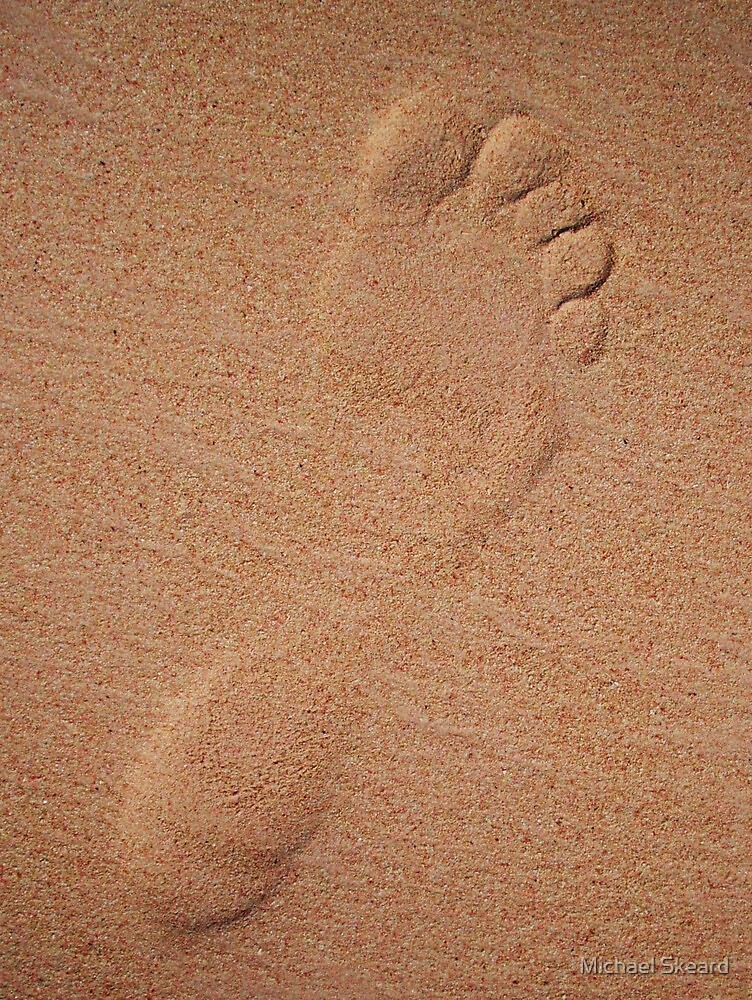Toes in the sand by Michael Skeard