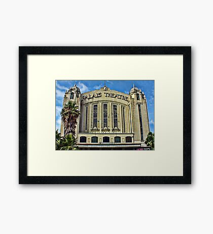 ~ Welcome to the Palais ~ Framed Print