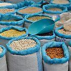 Dried Food at Market  by Escott O. Norton