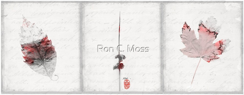 RED Lightness of Being by Ron C. Moss