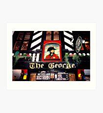 The George Art Print