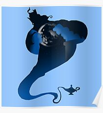 The Genie and the Moon  Poster