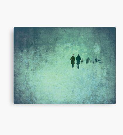 T H R E E  Canvas Print