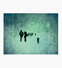 People Photographic Print