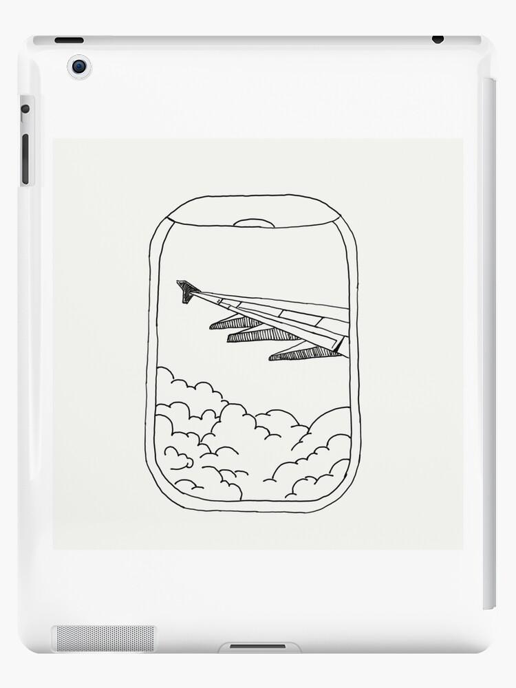 Airplane Window Ipad Case Skin By Liviabrooke Redbubble