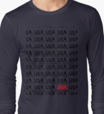 usa california tshirt by rogers bros Long Sleeve T-Shirt