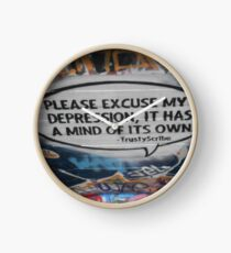 Please excuse my depression it has a mind of its own Clock