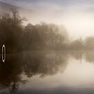 Sunlight on the boathouse... Loch Ard, Trossachs by David Mould