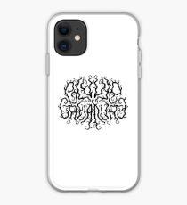 Death Metal Logo - Black iPhone Case