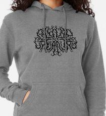 Death Metal Logo - Black Lightweight Hoodie
