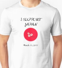 I support Japan T-Shirt