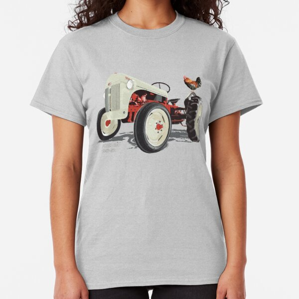 Old Redbelly, the Ford 8N – with Barney the 'Rooster' Classic T-Shirt