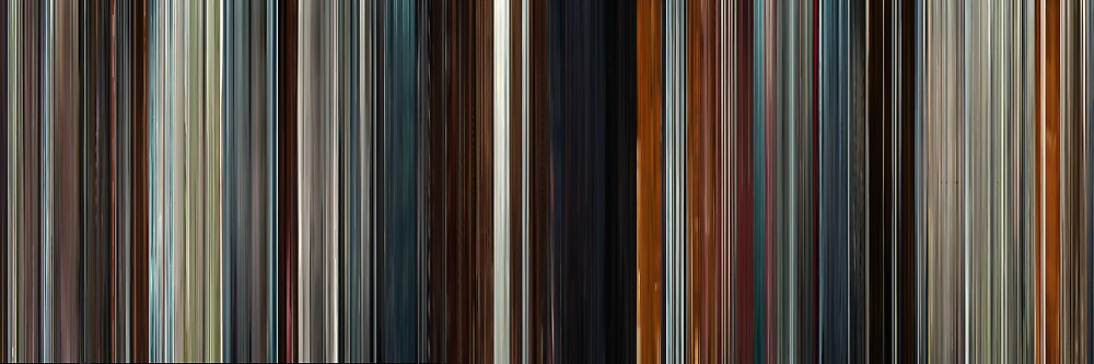 Moviebarcode: Æon Flux (2005) by moviebarcode