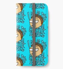 "Morty ""I Do As The Crystal Guides"" quote from Rick and Morty™ Death Crystal iPhone Wallet/Case/Skin"