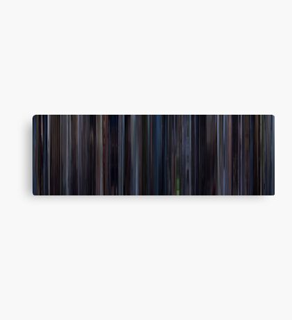 Moviebarcode: Lost in Translation (2003) Canvas Print