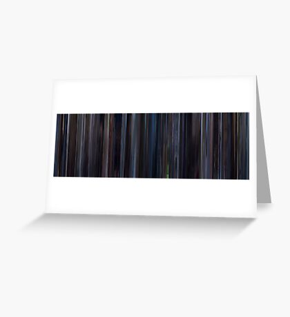 Moviebarcode: Lost in Translation (2003) Greeting Card