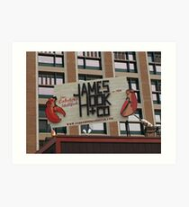 James Hook & CO Art Print