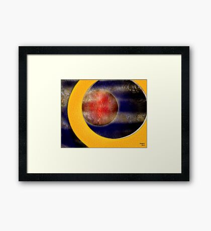 Fly through the Universe Framed Print