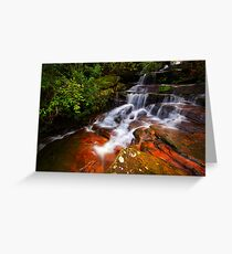Somersby Cascade Greeting Card