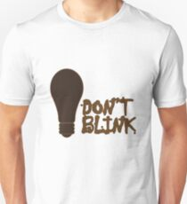 Dont blink dr who inspired geek funny nerd T-Shirt