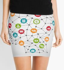 Business a head7 Mini Skirt