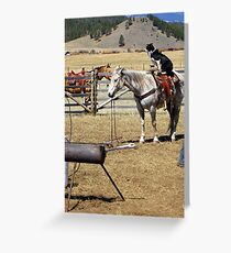 """""""This is Cowdog Country"""" Greeting Card"""