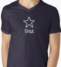 Be Yourself  -  Star V-Neck T-Shirt