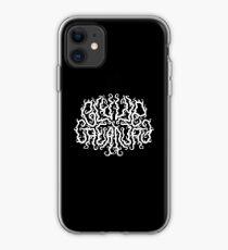 Death Metal Logo - White iPhone Case