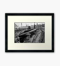 HMSM Ocelot: Royal Navy Submarine  Framed Print