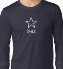 Be Yourself - Star Long Sleeve T-Shirt