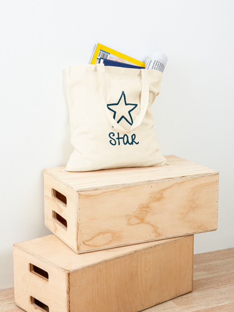 Alternate view of Be Yourself - Star Tote Bag
