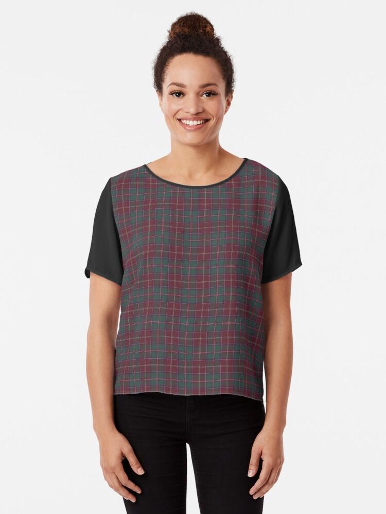 Scots Style Clan Macalister Tartan Plaid Women Sweatshirt Casual Hoodie Tshirt T Hoodies Cropped Crop Tops